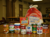 These items are needed to serve nearly a thousand meals on Thanksgiving Day