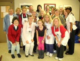 Ladies Auxiliary at Charlotte Rescue Mission